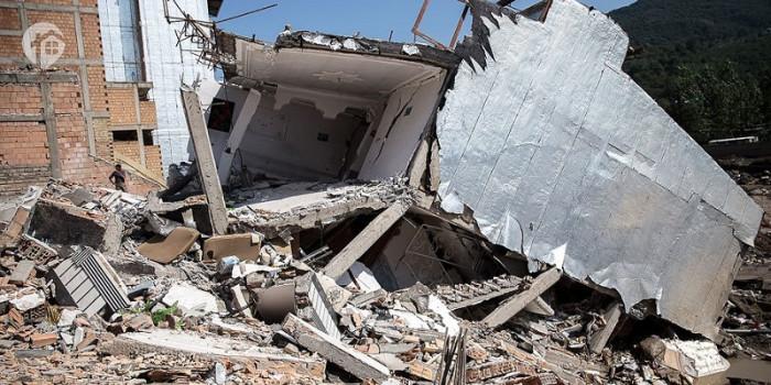 سیل در کشور باعث تخریب 55 هزار واحد مسکونی شده است