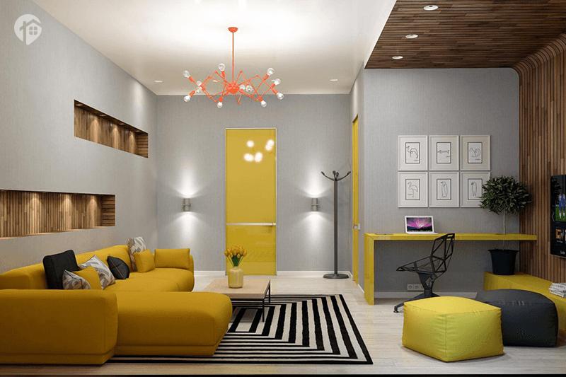 ایده های جالب برای طراحی دکوراسیون داخلی آپارتمان های کوچک