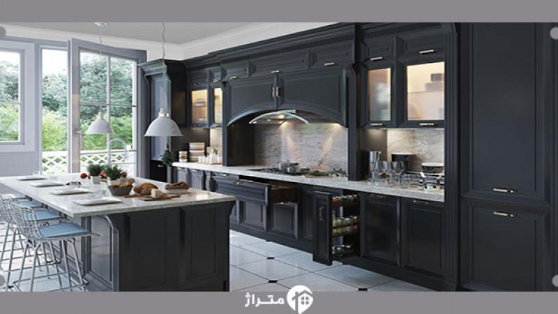 چه کابینتی برای آشپزخانه یک آپارتمان امروزی مناسب است؟